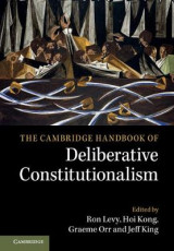 Omslag - The Cambridge Handbook of Deliberative Constitutionalism