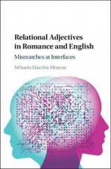 Omslag - Relational Adjectives in Romance and English
