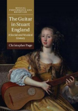 Omslag - The Guitar in Stuart England