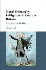 Omslag - Moral Philosophy in Eighteenth-Century Britain