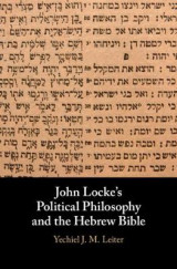 Omslag - John Locke's Political Philosophy and the Hebrew Bible