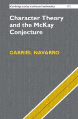Omslag - Character Theory and the McKay Conjecture