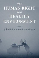 Omslag - The Human Right to a Healthy Environment