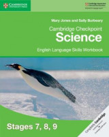 Omslag - Cambridge Checkpoint Science English Language Skills Workbook Stages 7, 8, 9