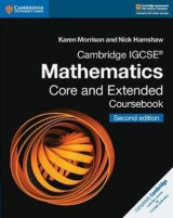 Omslag - Cambridge IGCSE (R) Mathematics Core and Extended Coursebook