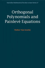 Omslag - Orthogonal Polynomials and Painleve Equations