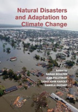 Omslag - Natural Disasters and Adaptation to Climate Change