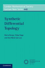 Omslag - Synthetic Differential Topology