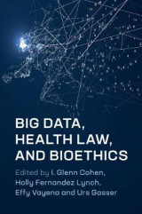 Omslag - Big Data, Health Law, and Bioethics