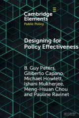Omslag - Designing for Policy Effectiveness