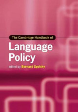 Omslag - The Cambridge Handbook of Language Policy
