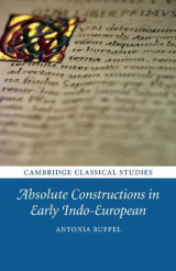 Omslag - Absolute Constructions in Early Indo-European