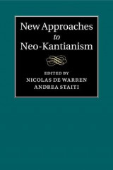 Omslag - New Approaches to Neo-Kantianism