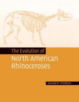 Omslag - The Evolution of North American Rhinoceroses