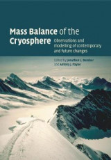 Omslag - Mass Balance of the Cryosphere