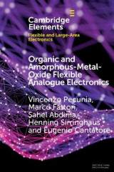 Omslag - Organic and Amorphous-Metal-Oxide Flexible Analogue Electronics