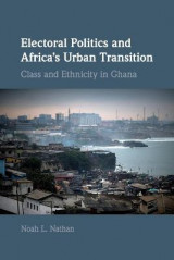 Omslag - Electoral Politics and Africa's Urban Transition