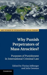 Omslag - Why Punish Perpetrators of Mass Atrocities?