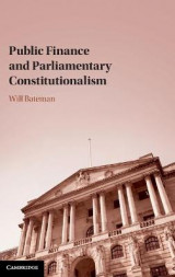 Omslag - Public Finance and Parliamentary Constitutionalism