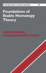 Omslag - Foundations of Stable Homotopy Theory