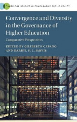 Omslag - Convergence and Diversity in the Governance of Higher Education