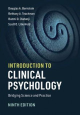 Omslag - Introduction to Clinical Psychology