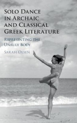 Omslag - Solo Dance in Archaic and Classical Greek Literature