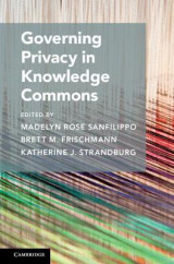 Omslag - Governing Privacy in Knowledge Commons
