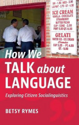 Omslag - How We Talk about Language