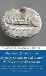 Omslag - Migration, Mobility and Language Contact in and around the Ancient Mediterranean