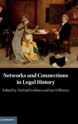 Omslag - Networks and Connections in Legal History