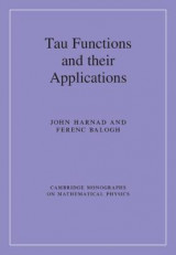 Omslag - Tau Functions and their Applications