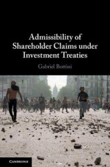 Omslag - Admissibility of Shareholder Claims under Investment Treaties