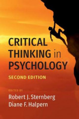 Omslag - Critical Thinking in Psychology