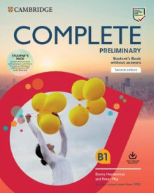 Complete Preliminary Student's Book Pack (SB wo Answers w Online Practice and WB wo Answers w Audio Download) av Peter May og Emma Heyderman (Blandet mediaprodukt)