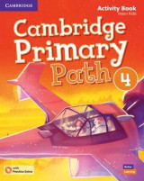 Omslag - Cambridge Primary Path Level 4 Activity Book with Practice Extra American English