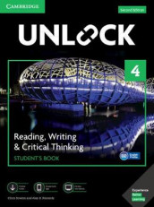 Unlock Level 4 Reading, Writing, & Critical Thinking Student's Book, Mob App and Online Workbook w/ Downloadable Video av Alan S. Kennedy og Chris Sowton (Blandet mediaprodukt)