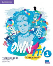 Own it! Level 1 Teacher's Book with Digital Resource Pack av Alice Copello (Blandet mediaprodukt)