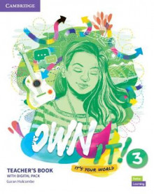 Own it! Level 3 Teacher's Book with Digital Resource Pack av Garan Holcombe (Blandet mediaprodukt)