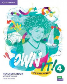 Own it! Level 4 Teacher's Book with Digital Resource Pack av Garan Holcombe (Blandet mediaprodukt)