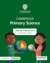 Omslag - Cambridge Primary Science Teacher's Resource 4 with Digital Access