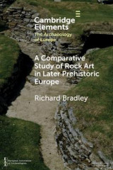 Omslag - A Comparative Study of Rock Art in Later Prehistoric Europe