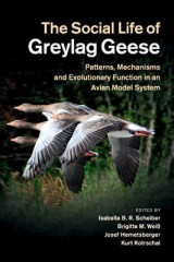 Omslag - The Social Life of Greylag Geese