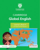Omslag - Cambridge Global English Learner's Book 4 with Digital Access (1 Year)