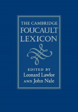 Omslag - The Cambridge Foucault Lexicon