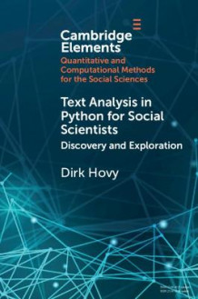 Text Analysis in Python for Social Scientists av Dirk Hovy (Heftet)
