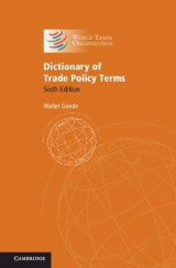 Omslag - Dictionary of Trade Policy Terms