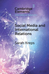 Omslag - Social Media and International Relations
