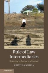 Omslag - Rule of Law Intermediaries