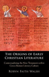 Omslag - The Origins of Early Christian Literature